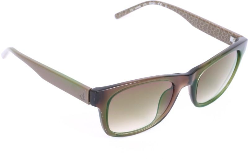 Calvin Klein Retro Square Sunglasses(Grey)