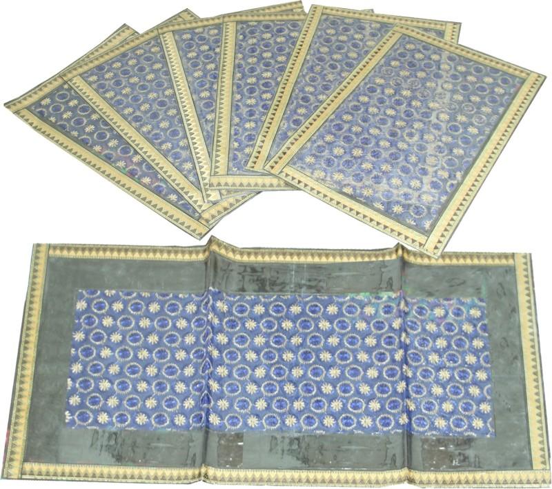 Kuber Industries Gold Table Linen Set