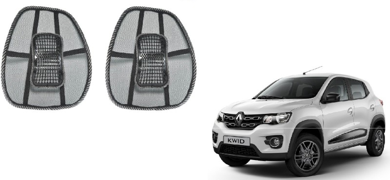 Affinity Nylon Seating Pad For Renault Kwid(Back Seats Black)