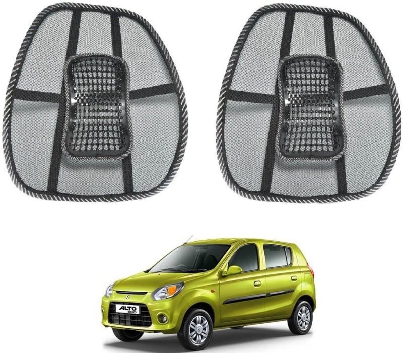 Affinity Nylon Seating Pad For Maruti Suzuki Alto 800(Back Seats Black)