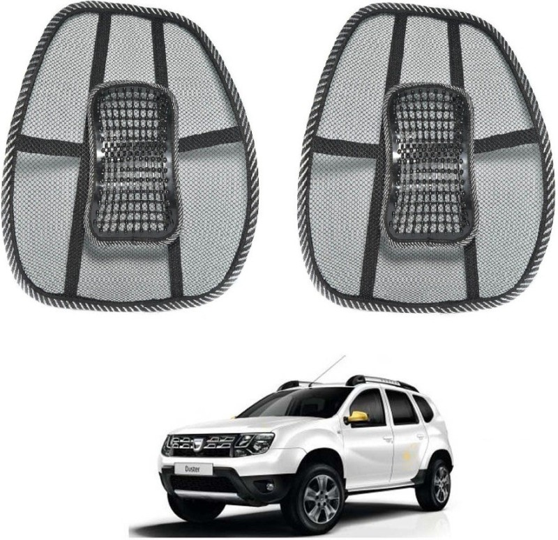 Affinity Nylon Seating Pad For Renault Duster(Back Seats Black)