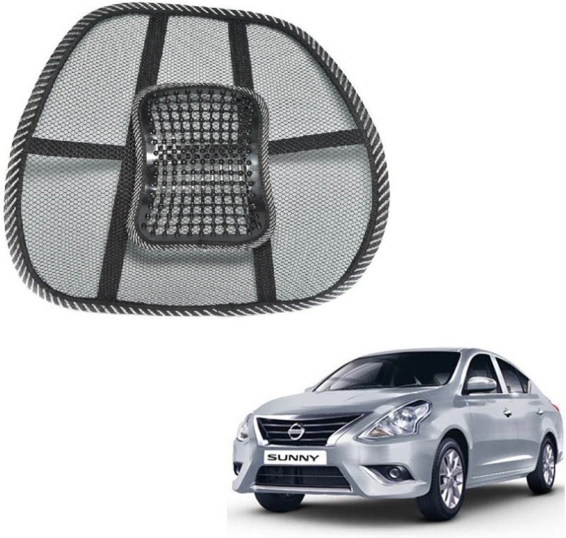 Affinity Nylon Seating Pad For Nissan Sunny(Back Seats Black)