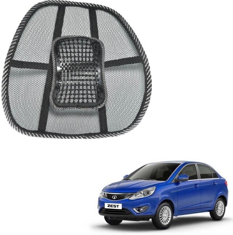 Affinity Nylon Seating Pad For Tata Zest(Back Seats Black)