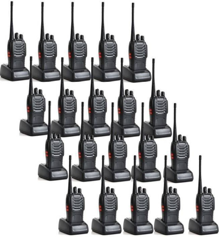 Mezire Baofeng Bf-888S 4 BaoFeng BF-888S Two Way Radio (Pack of 20) Walkie Talkie(Black)