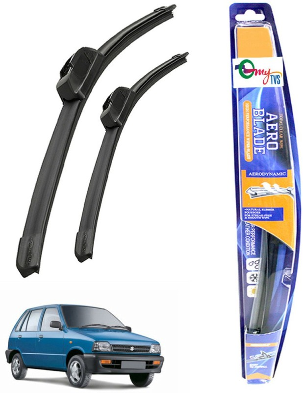 myTVS Windshield Wiper For Maruti Suzuki 800(Passenger And Driver Side Wipers Pack of 2)