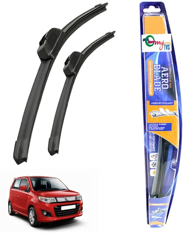 myTVS Windshield Wiper For Maruti Suzuki WagonR Stingray(Passenger And Driver Side Wipers Pack of 2)