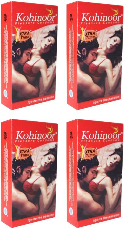 Kohinoor Xtra Time Condom(Set of 4, 40S)