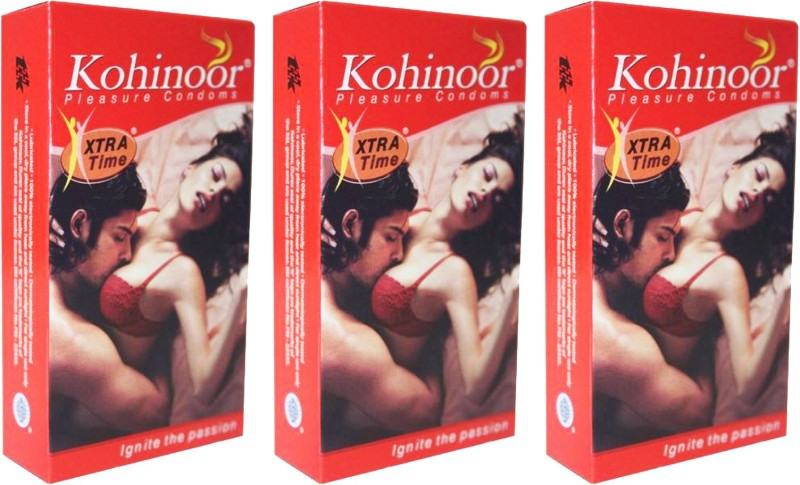 Kohinoor Xtra Time Condom(Set of 3, 30S)