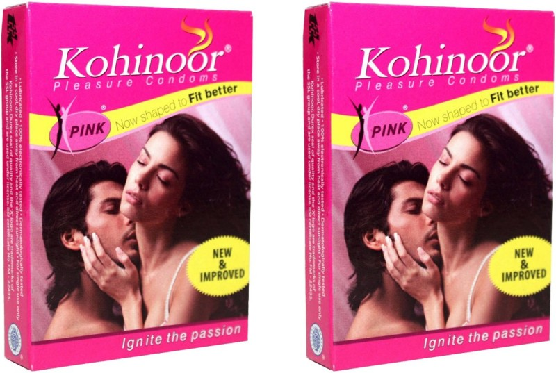 Kohinoor Pink Condom(Set of 2, 20S)