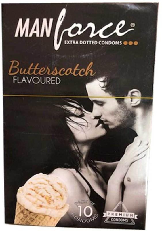 manforce Butter Scotch pack of 10) Condom(10S)