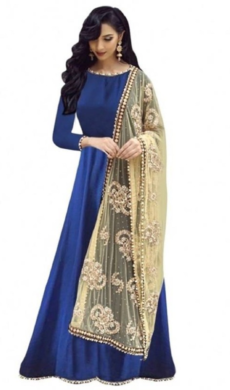 SERENEVA SALES A-line Gown(Blue)