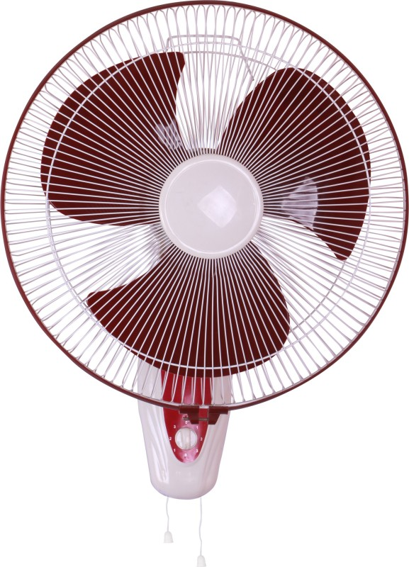 Airtop 16 Wall Fan Ivory Cherry 3 Blade Wall Fan(Ivory Cherry)