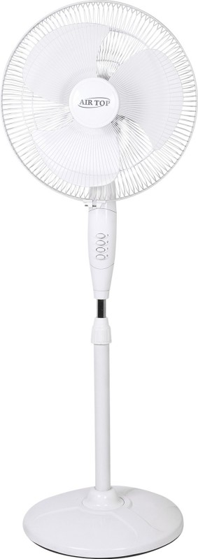 Airtop 16 Pedestal Fan White 3 Blade Pedestal Fan(White)