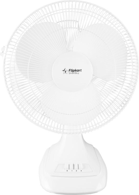 Flipkart SmartBuy T16NSY 3 Blade Table Fan(White)