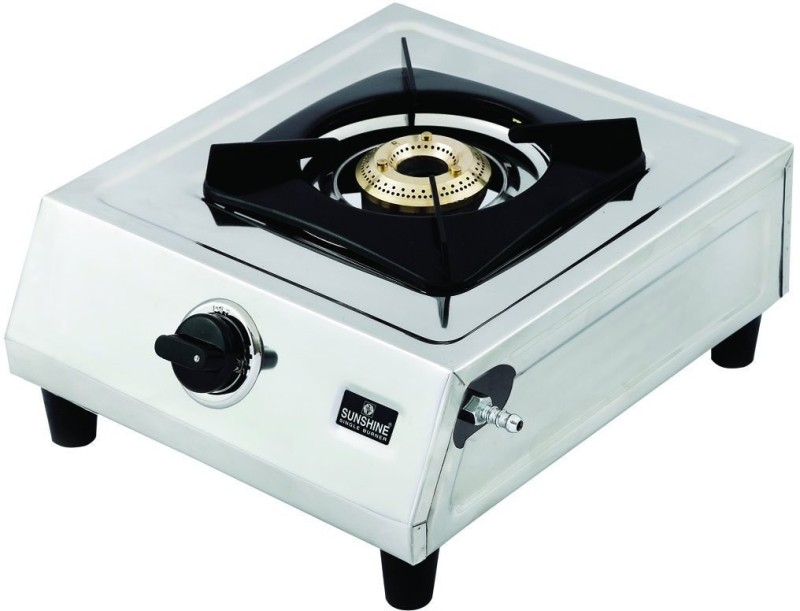 sunshine Supreme 1002 Stainless Steel Manual Gas Stove(1 Burners)