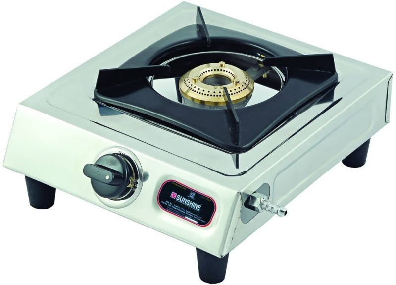sunshine Singal burner 1001 Stainless Steel Manual Gas Stove(1 Burners)