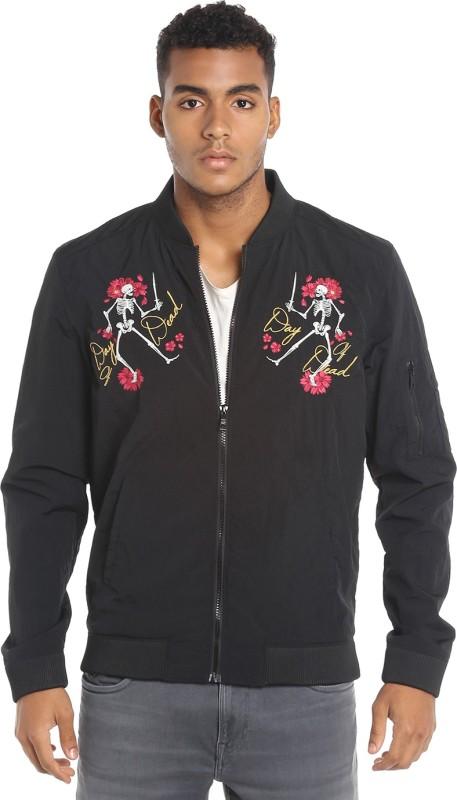 Jack & Jones Full Sleeve Printed Mens Jacket