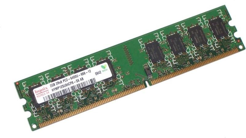 Hynix ddr2 DDR2 2 GB (Dual Channel) PC SDRAM (HYMP125U64CP8-Y5)(Green)