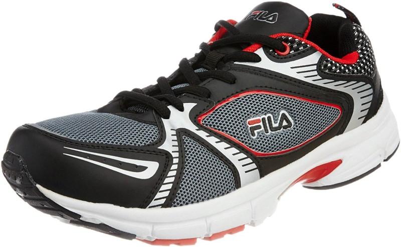 Fila Fila Mens Citrus Black and Red Running Shoes -8 Running Shoes For Men(Black, Red)