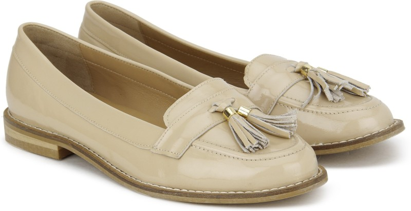Carlton London CLL-3510 Loafers For Women(Beige)