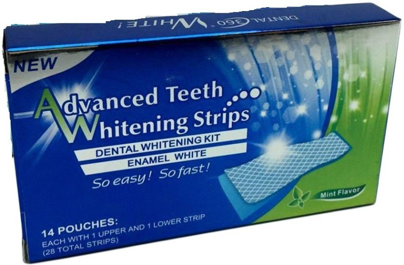 DALUCI Oral Hygiene Teeth Whitening Strips Professional Double Dental White Teeth Strips Teeth Whitening Kit