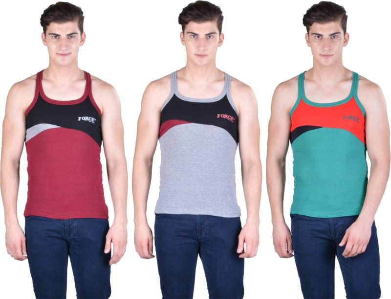 Force Go Wear Mens Vest(Pack of 3)