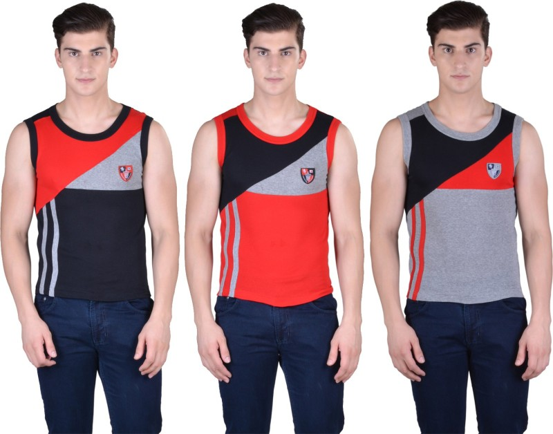 Force Go Wear Mens Vest(Pack of 3)