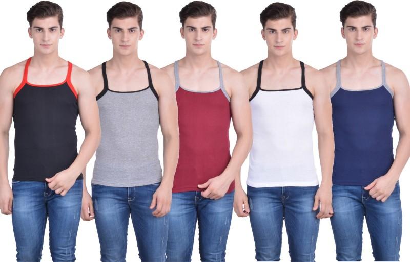 Force Go Wear Mens Vest(Pack of 5)