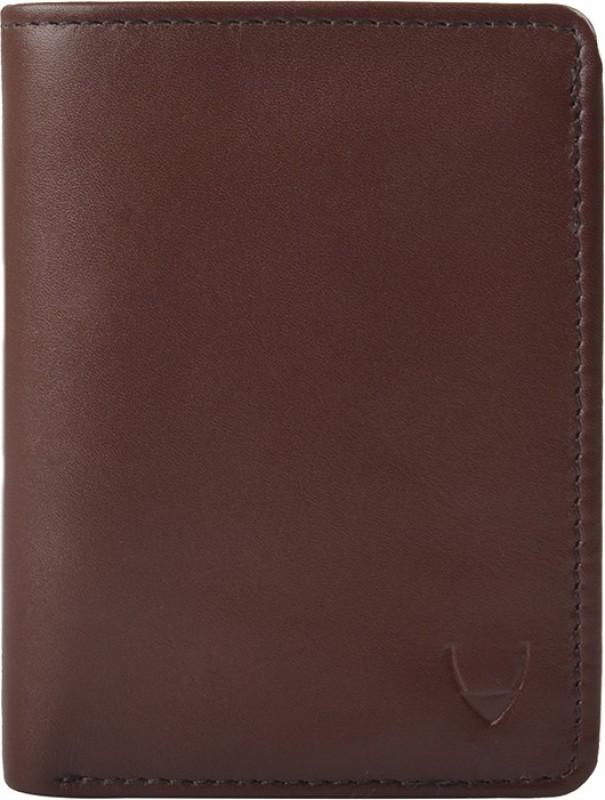 Hidesign Men Tan Genuine Leather Wallet(1 Card Slot)