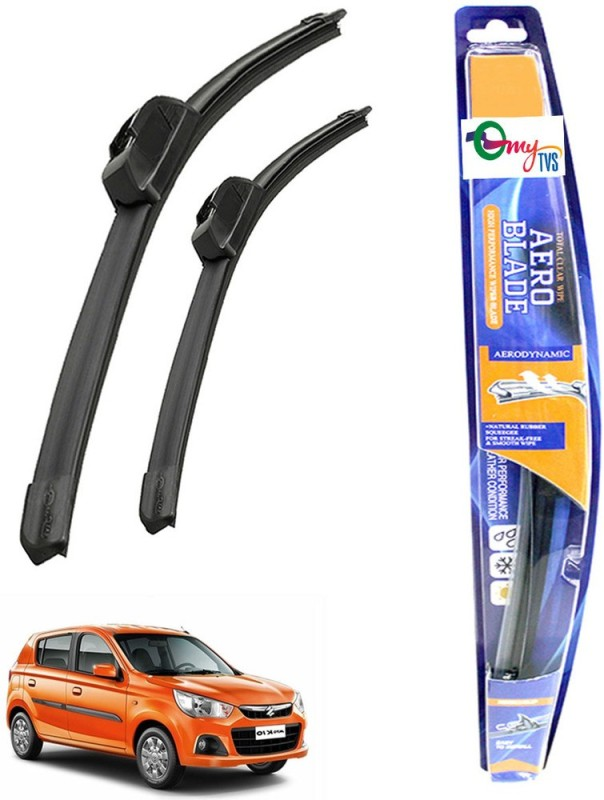 myTVS Windshield Wiper For Maruti Suzuki Alto K10(Passenger And Driver Side Wipers Pack of 2)