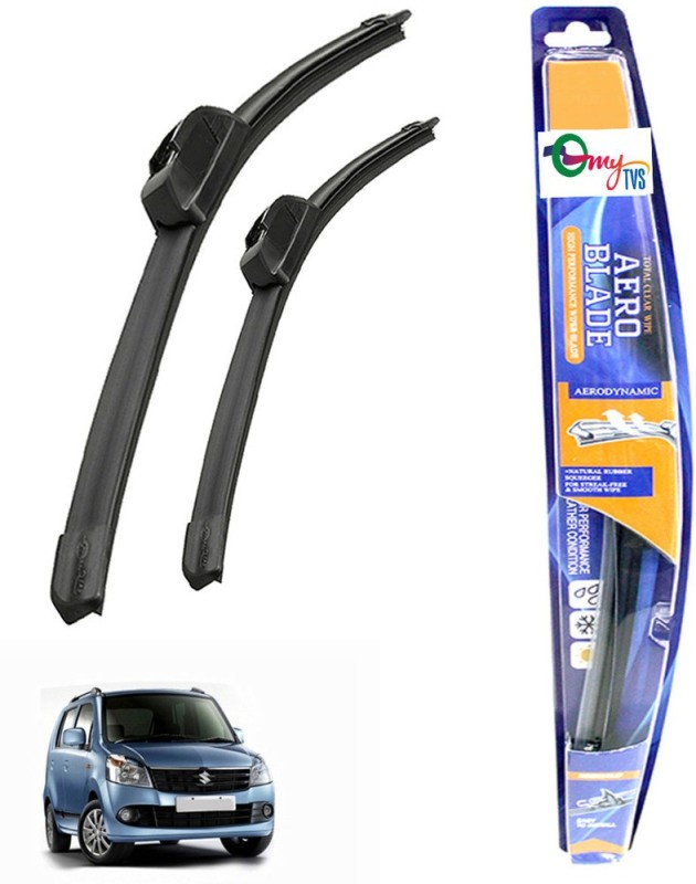 myTVS Windshield Wiper For Maruti Suzuki WagonR(Passenger And Driver Side Wipers Pack of 2)