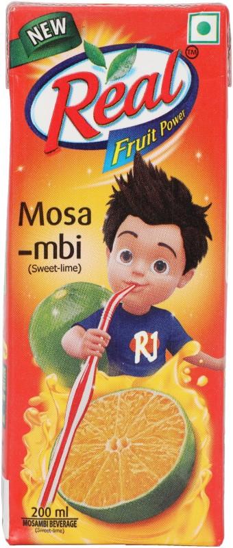 Real Fruit Juice - Mosambi 200 ml