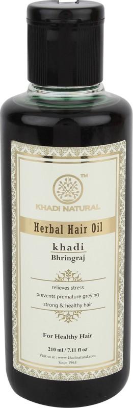 Khadi Natural AYURVEDIC BHRINGRAJ HAIR OIL Hair Oil(210 ml)