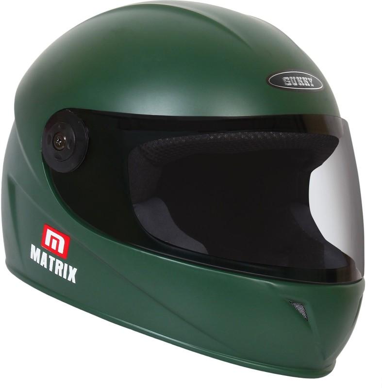Sunny MATRIX Motorbike Helmet(ARMY GREEN MATT)