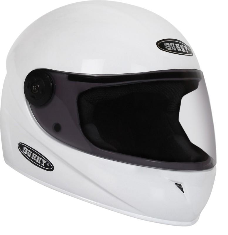 Sunny MATRIX Motorbike Helmet(White)