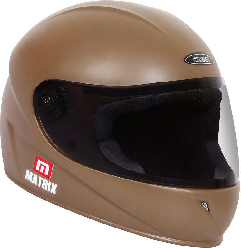 Sunny MATRIX Motorbike Helmet(brown)