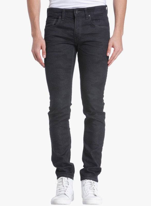 Jack & Jones Slim Mens Black Jeans