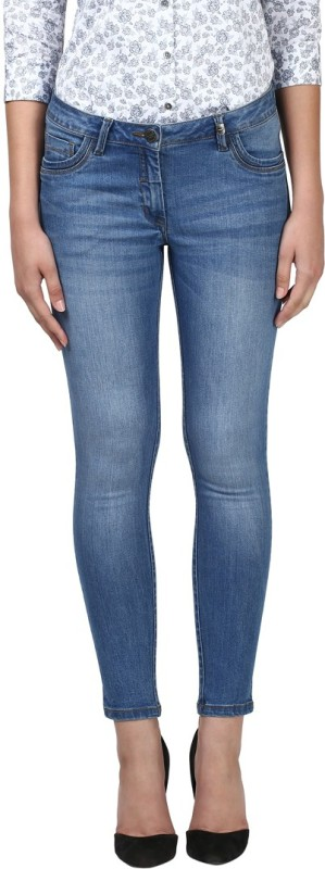 Park Avenue Slim Women Blue Jeans