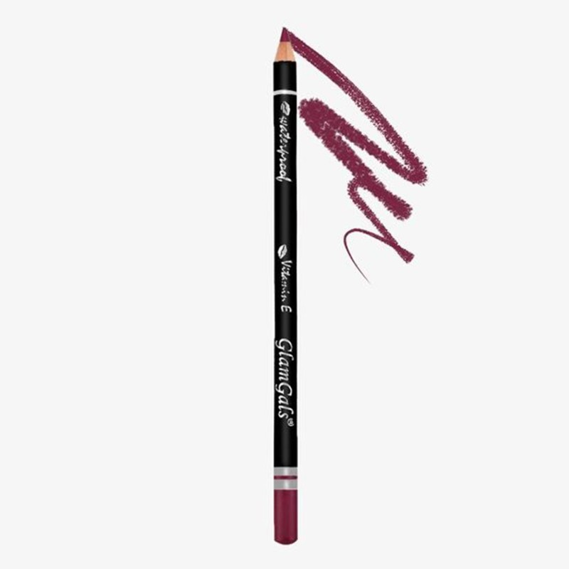 GlamGals Lip Liners(Berry Purple)