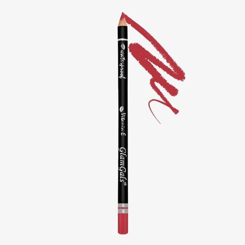 GlamGals Lip Liners(Crimson Red)