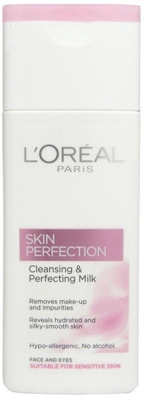 LOreal Skin Perfection Make-up Remover For Face & Eyes Makeup Remover(200 ml)