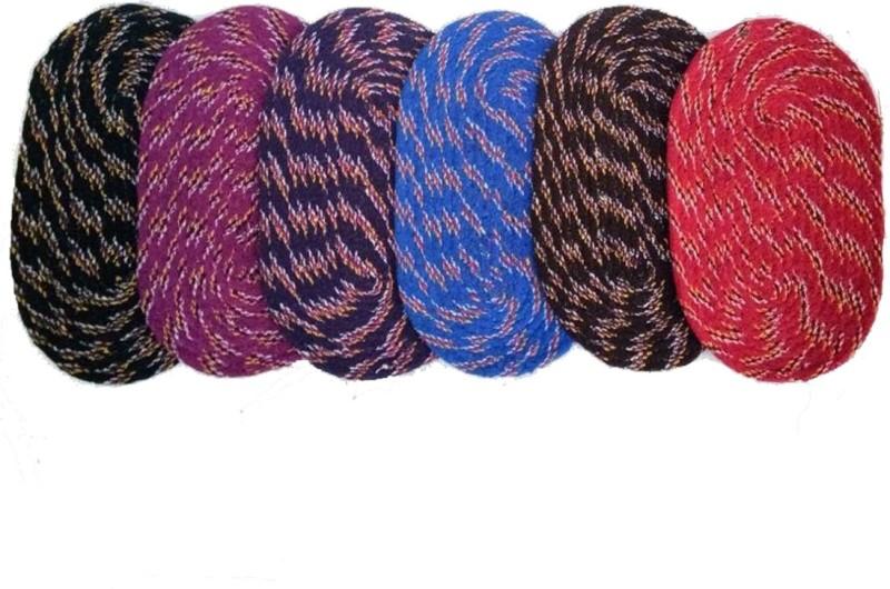 India Furnish Cotton Door Mat(Multicolor, Medium)