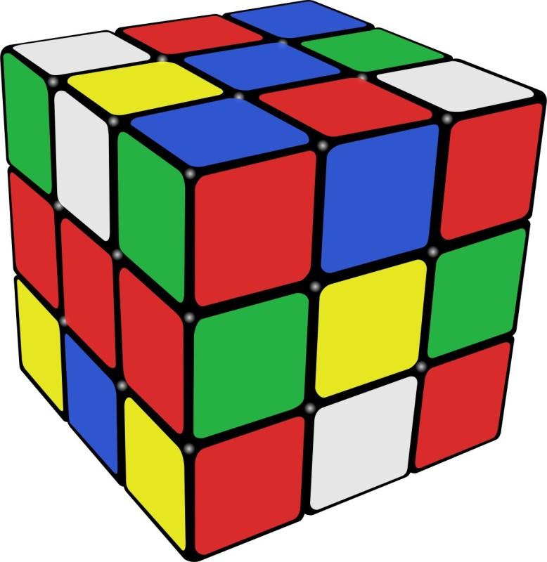 99Shoppy Stickerless Cube 3 x 3(1 Pieces)