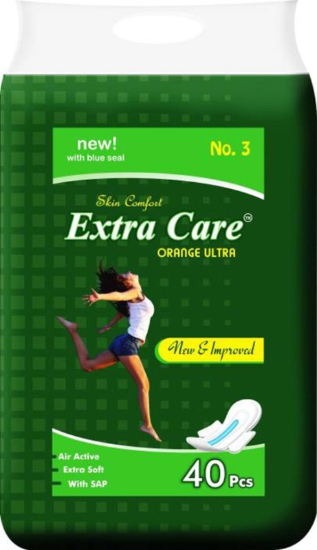 Extra Care XXL 40 Pcs Sanitary Pad Sanitary Pad(Pack of 40)