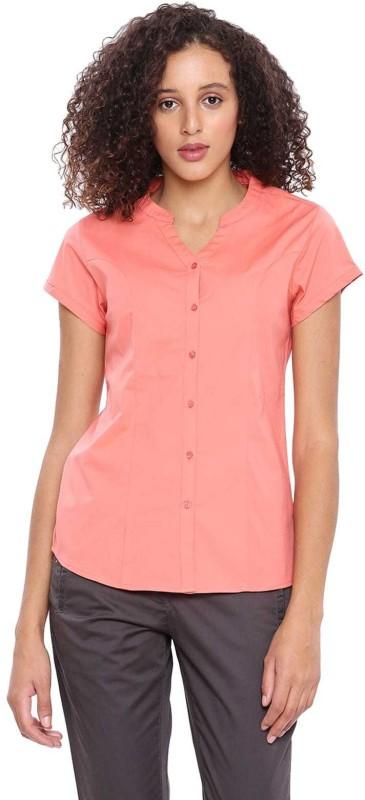 Arrow Women Solid Casual Shirt