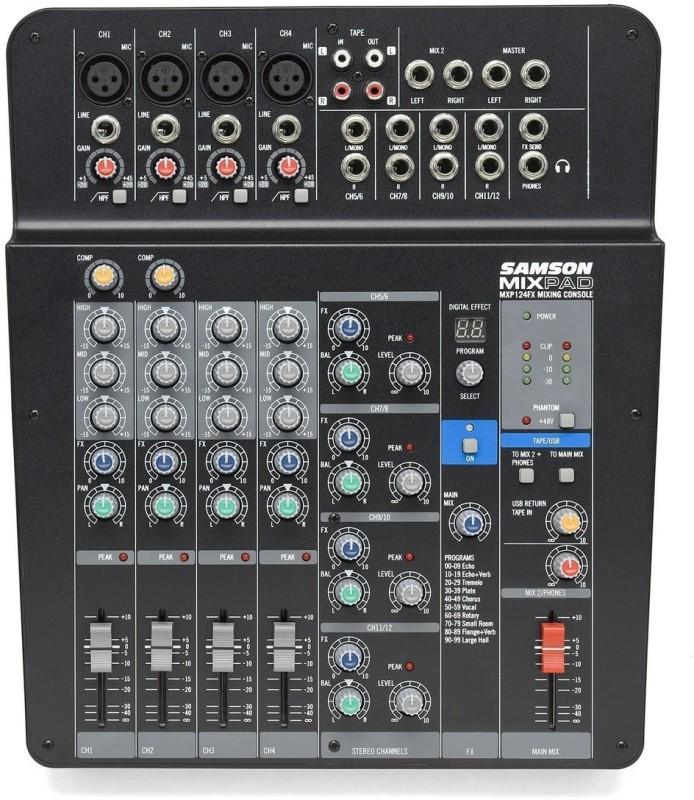 Samson MXP124FX Analog Sound Mixer
