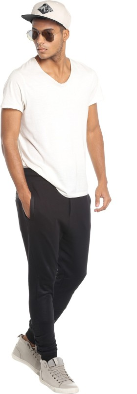 Jack & Jones Regular Fit Mens Black Trousers