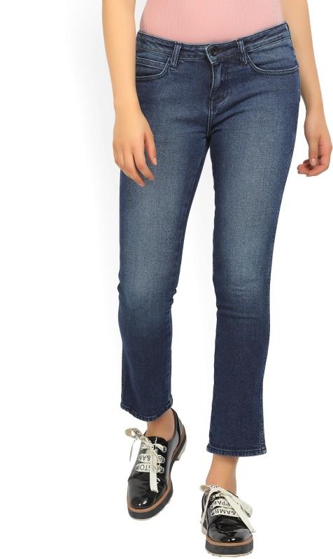 Wrangler Slim Womens Blue Jeans