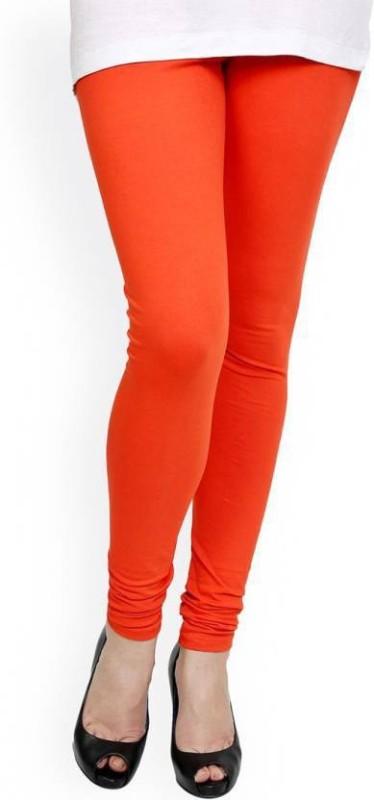 Elegant Shopping Churidar  Legging(Pink, Solid)
