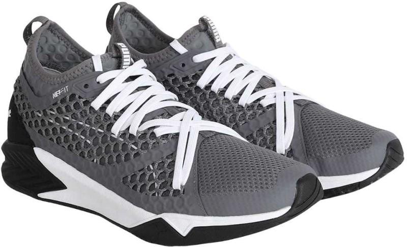 Puma IGNITE XT NETFIT Walking Shoes For Men(Grey)